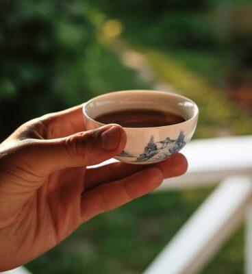 Preparación Té en Oriente - Cuenco Pequeño